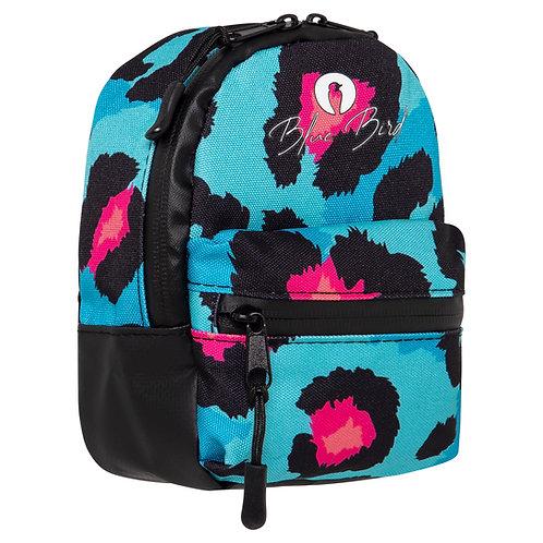 The Stash Bag 2.0 - Blue Leopard