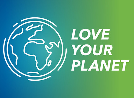 LOVE YOUR PLANET AND RECYCLE