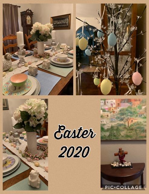 Easter 2020 Garcia family