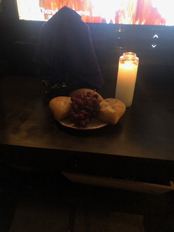 Holy thursday, altar for when viewing Ma