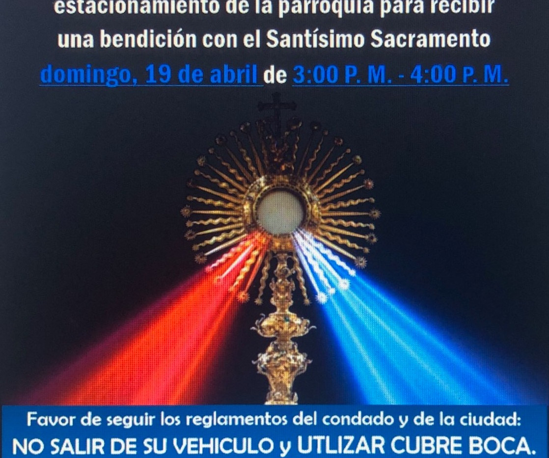 Divine Mercy Sunday Invitation for a Blessing