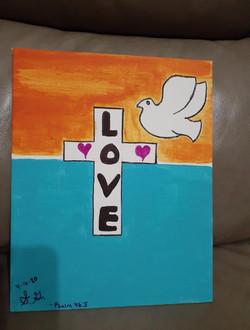 Love. Psalm 46.5
