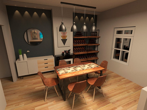 Interior Design - Dinning