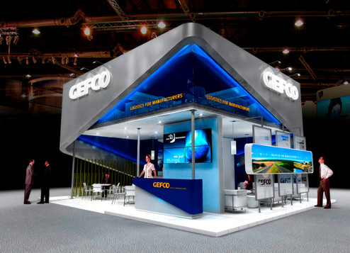 Stand Gefco 2009
