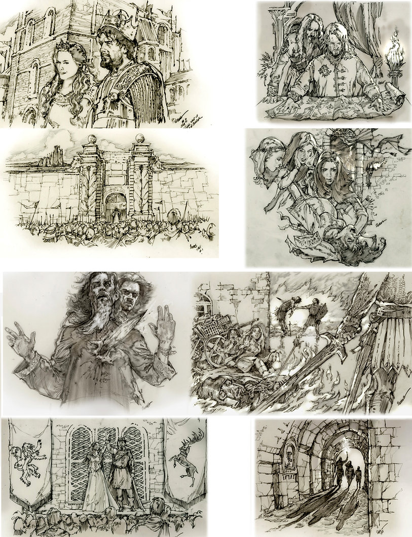 Game of thrones storyboards