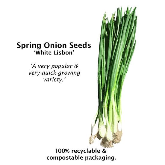 Spring Onion 'WHITE LISBON' ORGANIC