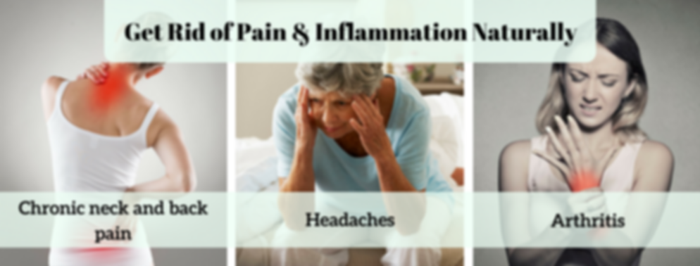Treat pain, fatigue naturally,
