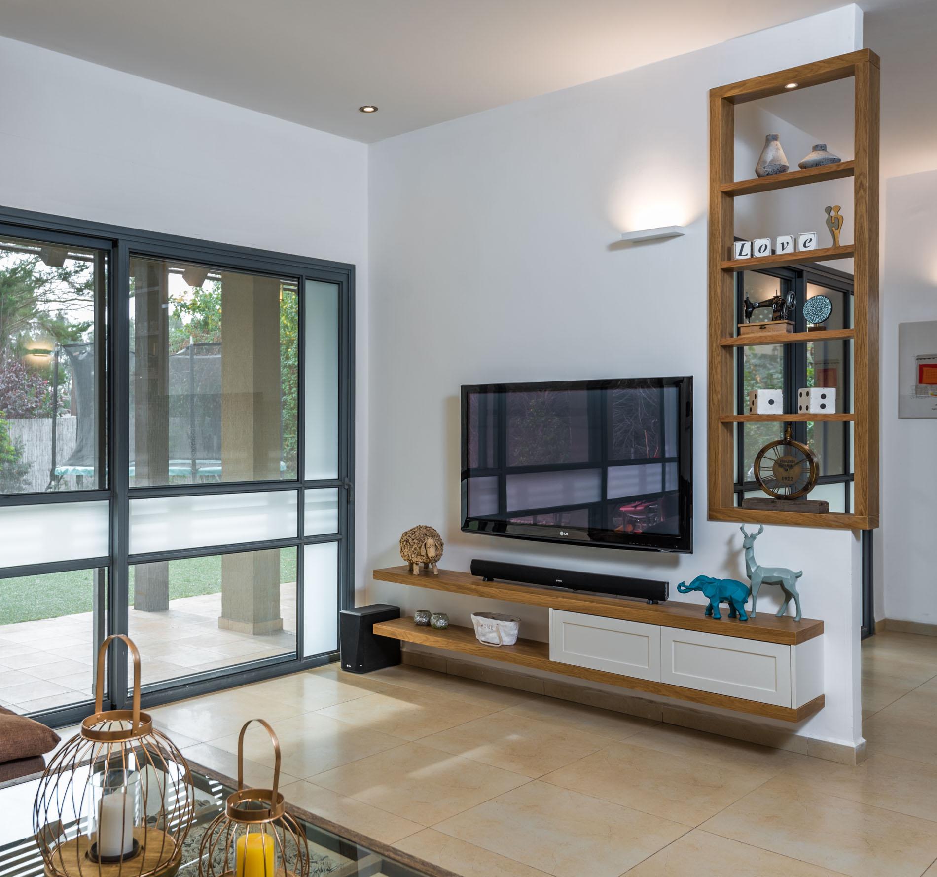 מודרני | כפרי | עיצוב סלון | שיפוץ