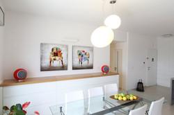 Colors - עיצוב ואדריכלות פנים פינת אוכל
