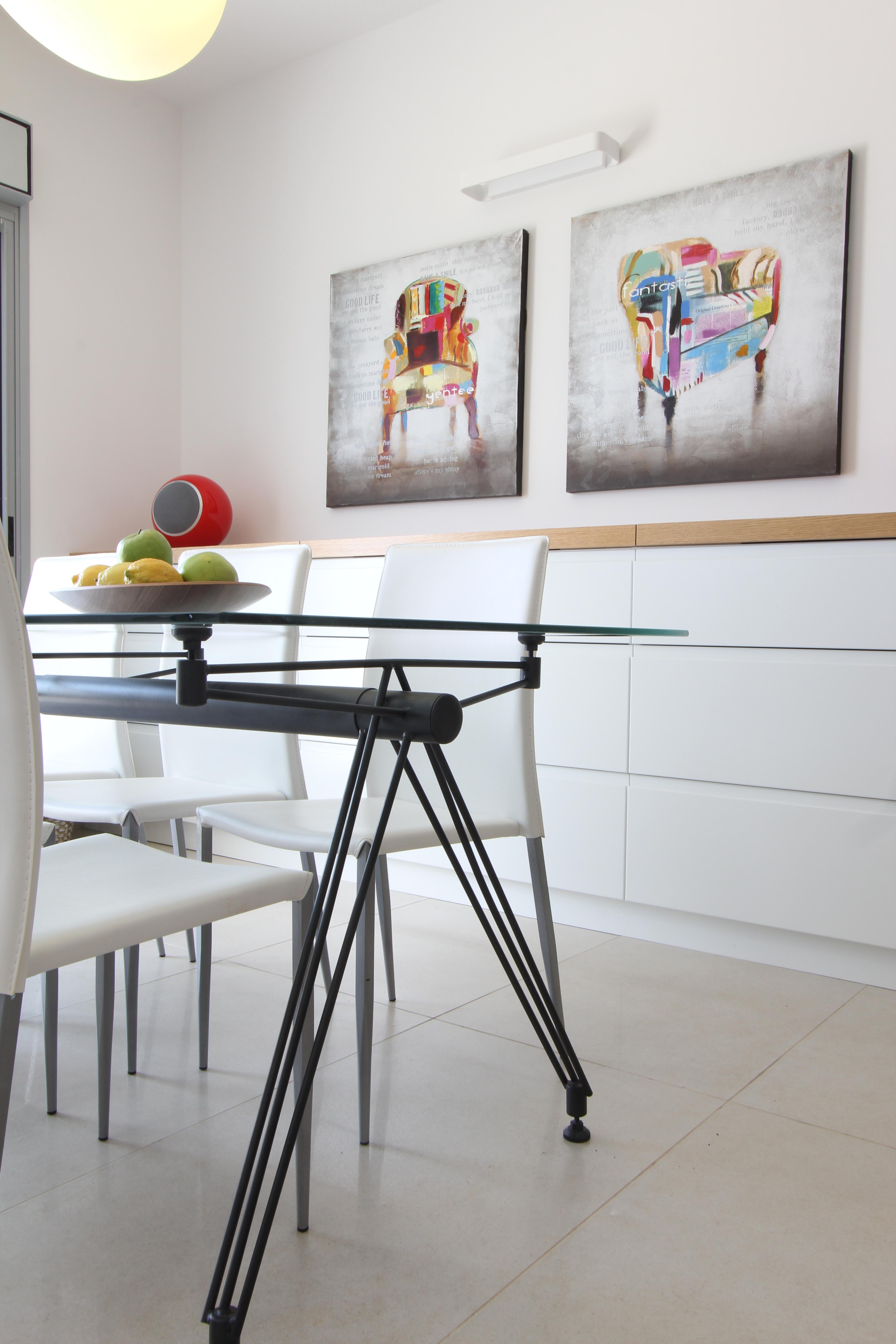 Colors - עיצוב ואדריכלות פנים, פינת אוכל