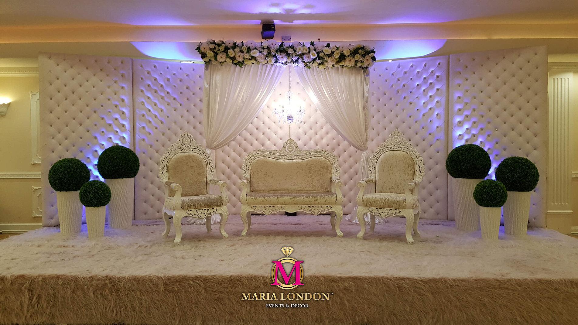 Event Decor London Maria London Events Professional Wedding Planners Bespoke