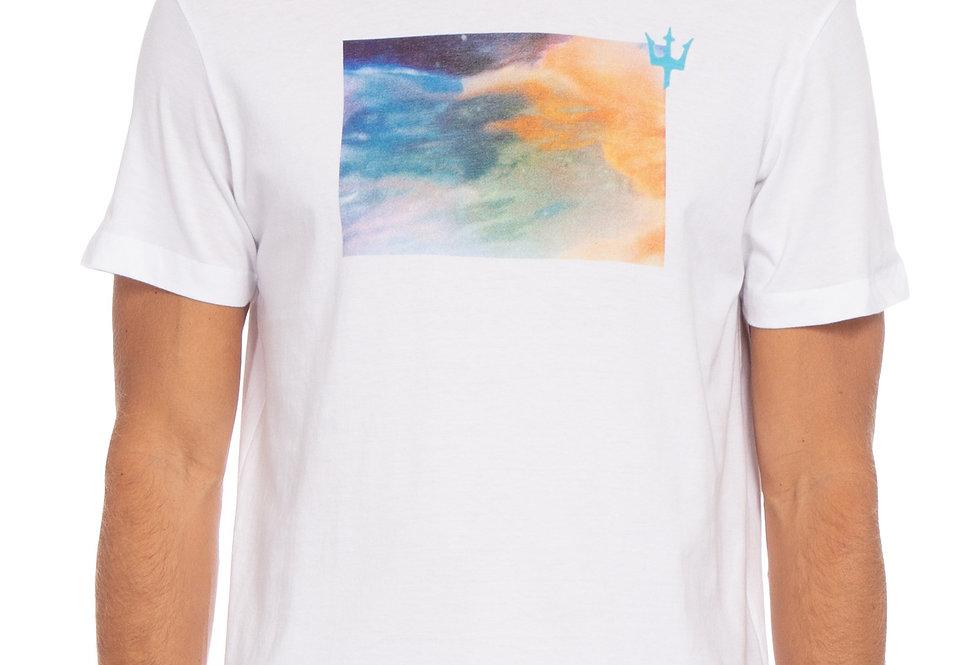 T-Shirt Stone Laranja Ciano Osklen