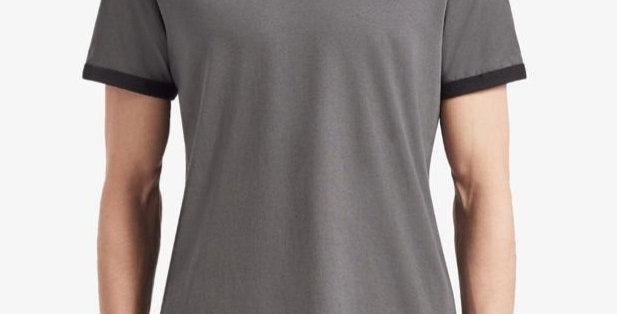 T-Shirt Fred Perry Chest - Cinza e Preto