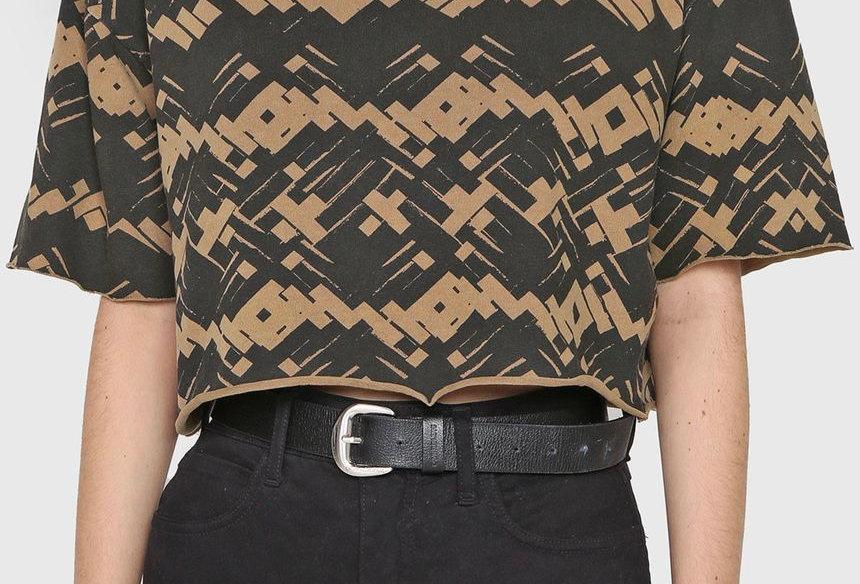 T-Shirt Cropped Cestaria Osklen