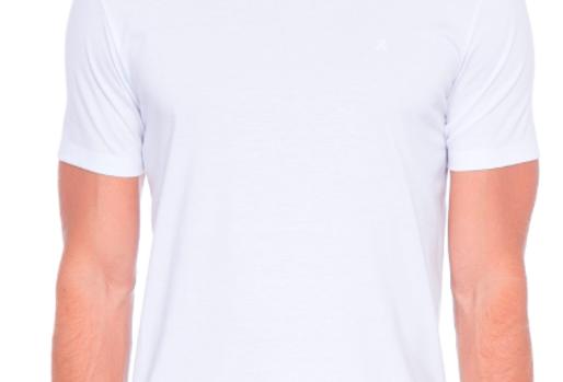 Camiseta Pima Básica Gola Careca - Ricardo Almeida