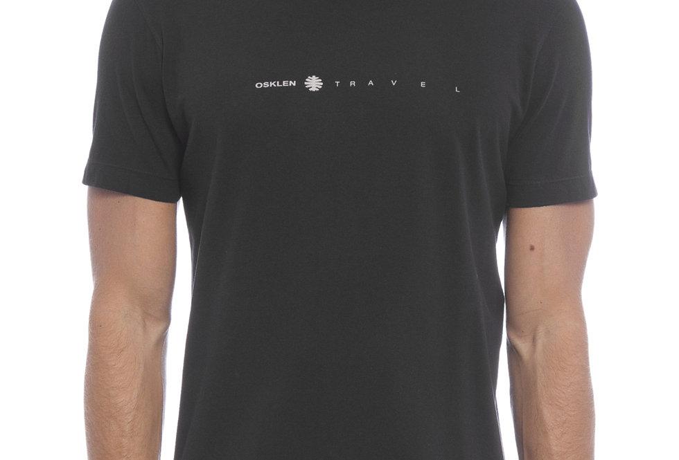 T-Shirt Osklen Vintage Travel - Preto