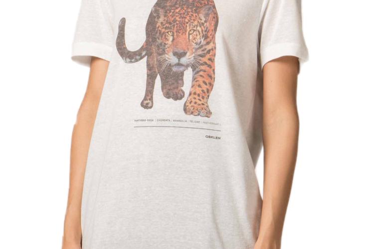 T-Shirt Onça Color Osklen