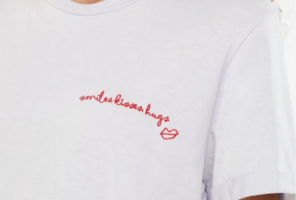 T-Shirt Smiles Kisses Hugs Animale