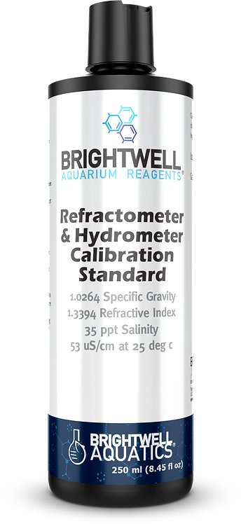 Refractometer & Hydrometer Calibration Standard (250ml)