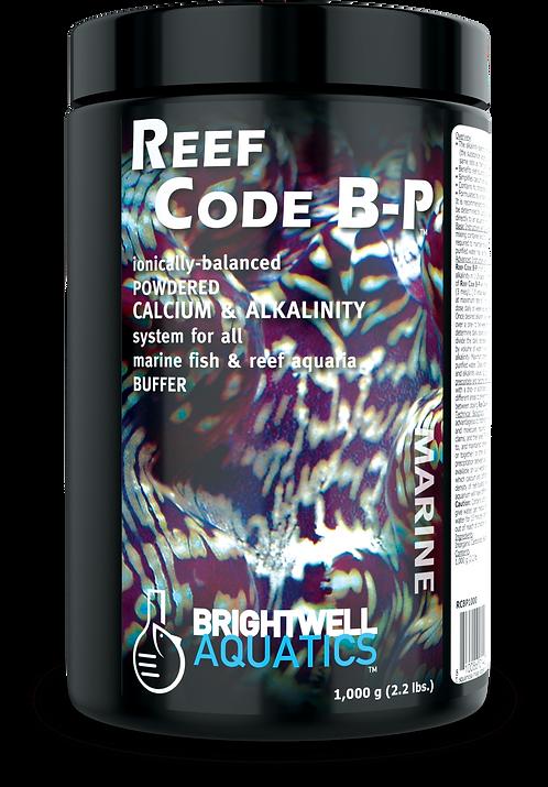 Reef Code B-P