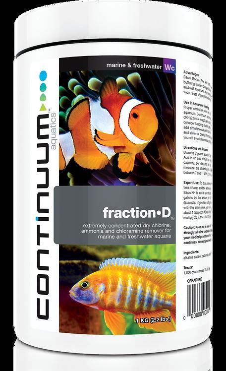 Fraction D