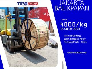 Biaya Ekspedisi Pengiriman Barang Jakarta - Balikpapan | Rp 4000/KG