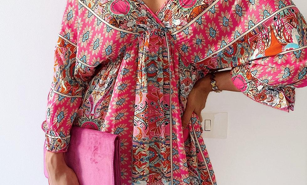 Sukienka Boho Pink