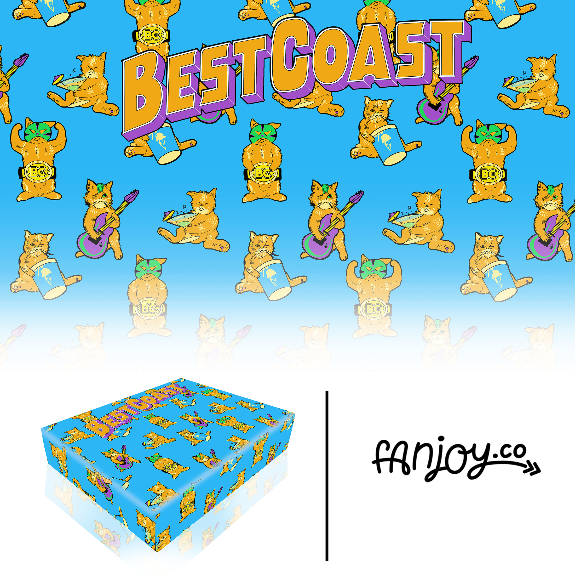 Best Coast Box Cover