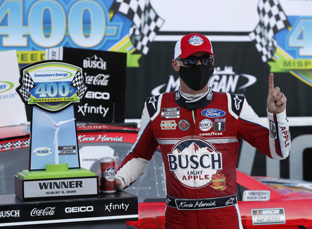 """NASCAR Sports Update: """"The Closer"""" sweeps the weekend at Michigan (8/9/20) By: Josh Scott"""