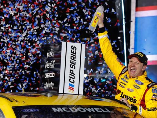 NASCAR underdog Michael McDowell pulls off upset, misses Big One to win Daytona 500