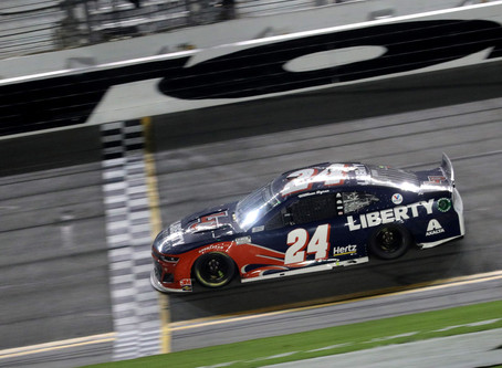 NASCAR Sports Update: William Byron grabs Daytona glory, Playoff field set (8/29/20) By: Josh Scott