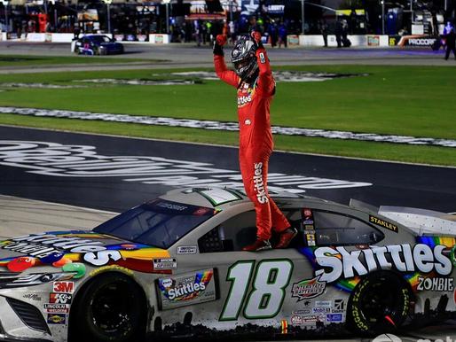 NASCAR Sports Update: Kyle Busch snaps winless streak at Texas (10/28/20) By: Josh Scott