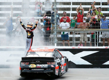 NASCAR Sports Update: Austin Dillon lassos in first Texas victory (7/19/20) By: Josh Scott