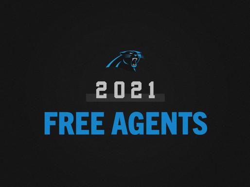 Carolina Panthers 2021 Free Agency Signings