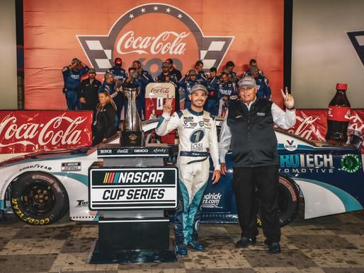 Kyle Larson dominates Coca-Cola 600, secures historic 269th win for Hendrick Motorsports