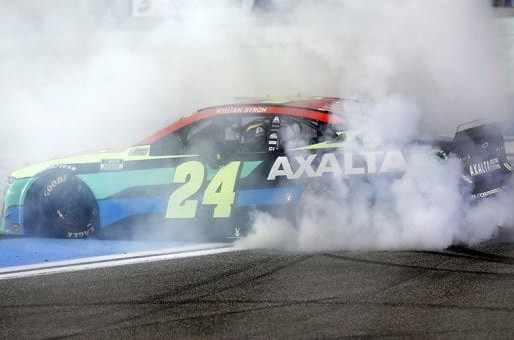 Can't Spell William without W: Byron victorious at Homestead