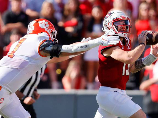 NC State survives, defeats #9 Clemson in Double OT thriller