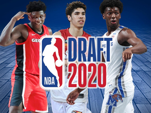 Sports Update: NBA Draft Recap, Winners and Losers of the Night (11/19/20) By: Stephen Biddix