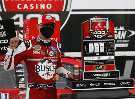 NASCAR Sports Update: Harvick emerges victorious amid Michigan mayhem (8/8/20) By: Josh Scott