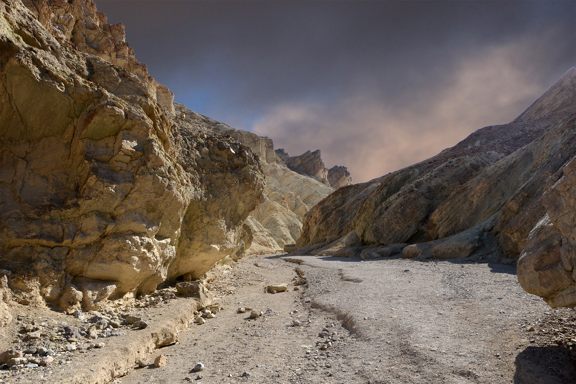 Gold Canyon Death Valley