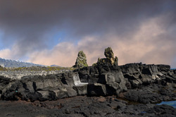 Seastacks in Snaefellsjokull National Park 1