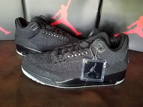 promo code 45a70 3bf74 Air Jordan 3 Retro Flyknit Black