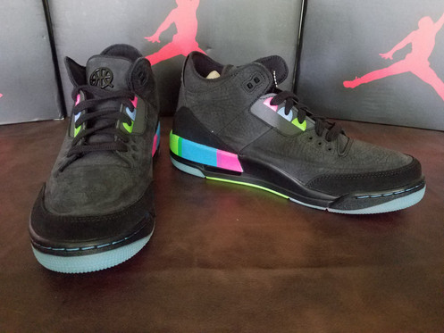 huge selection of 46cfd 416c7 Air Jordan 3 Retro SE Quai 54