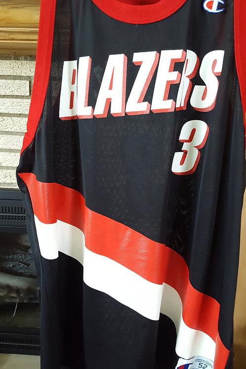 Champion Damon Stoudamire Portland TrailBlazers Jersey - Size 52 (XXL)