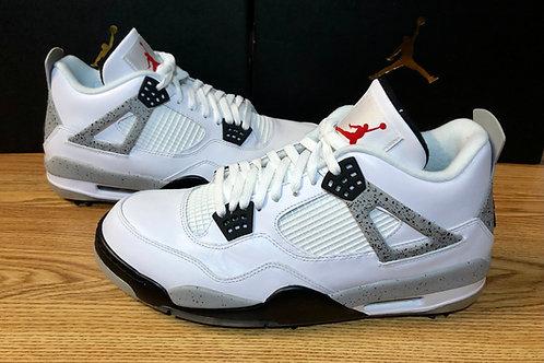 Air Jordan 4 Retro Golf White Cement