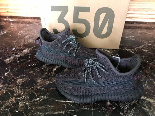 adidas Yeezy Boost 350 V2 Infant Black Non-Reflective