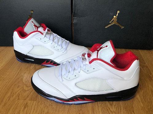 Air Jordan 5 Retro Low Golf Fire Red