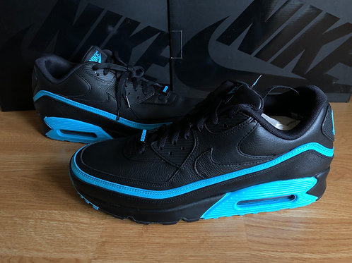 Nike Air Max 90 UNDFTD Undefeated Black/Blue Fury