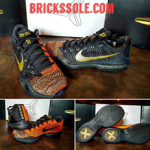 check out ddcb5 29e92 A special graphic down the heel depicts Kobe s ultimate presents  his five  championship rings.