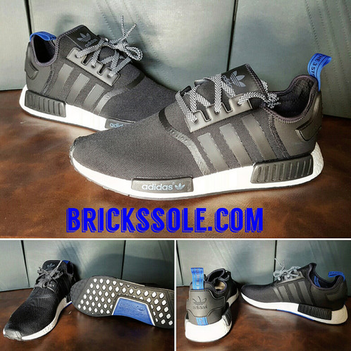 new concept a8676 92924 adidas NMD R1 Blue Tab